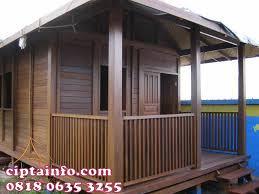 desain rumah kayu di gorontalo