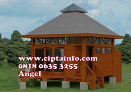 jual rumah kayu di malinau