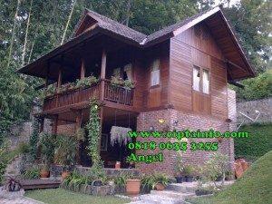 desain rumah kayu di suwawa