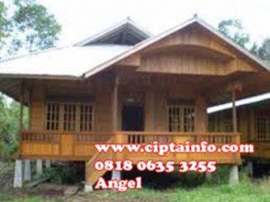 jual rumah kayu di maluku