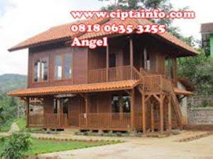 jual rumah kayu di masohi