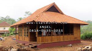 jual rumah kayu di masohi maluku
