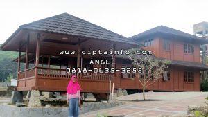desain rumah kayu di tilamuta gorontalo