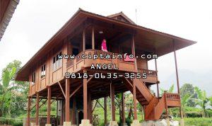 jual rumah kayu di dobo maluku