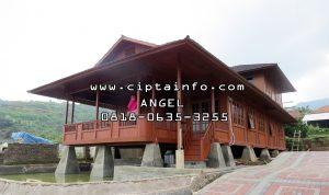 jual rumah kayu di suwawa gorontalo