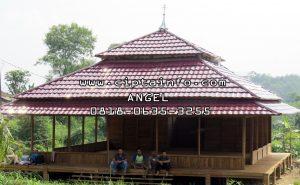 renovasi rumah kayu di kendari sulteng
