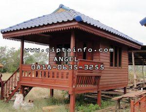 desain rumah kayu di ambon maluku